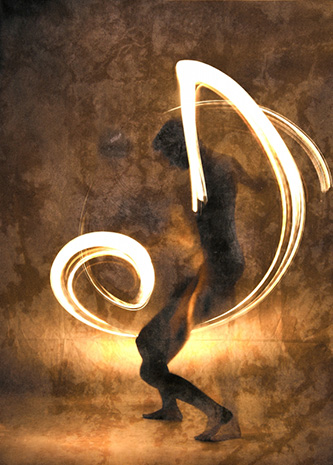 Light Dancer I by Piotr Trojanowski